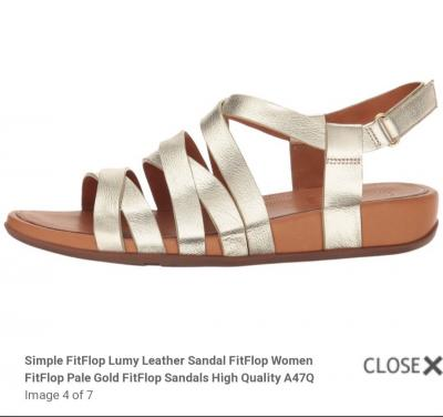 Sandal da Fitflop hàng Authentic FullBox- Chỉ còn Size 7,8