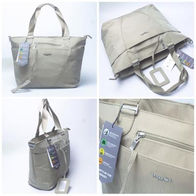N...WT B//a#ggallini Avenue Tote w/ Luggage Sleeve,padded Laptop / KT; 45 x 30 x 15cm / ngăn chống sốc 14inch