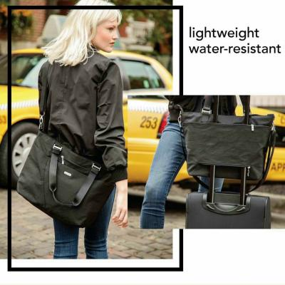 B//A#GGALLINI AVENUE TOTE W/ LUGGAGE SLEEVE,PADDED LAPTOP / KT; 45 X 30 X 15CM / NGĂN CHỐNG SỐC 14INCH
